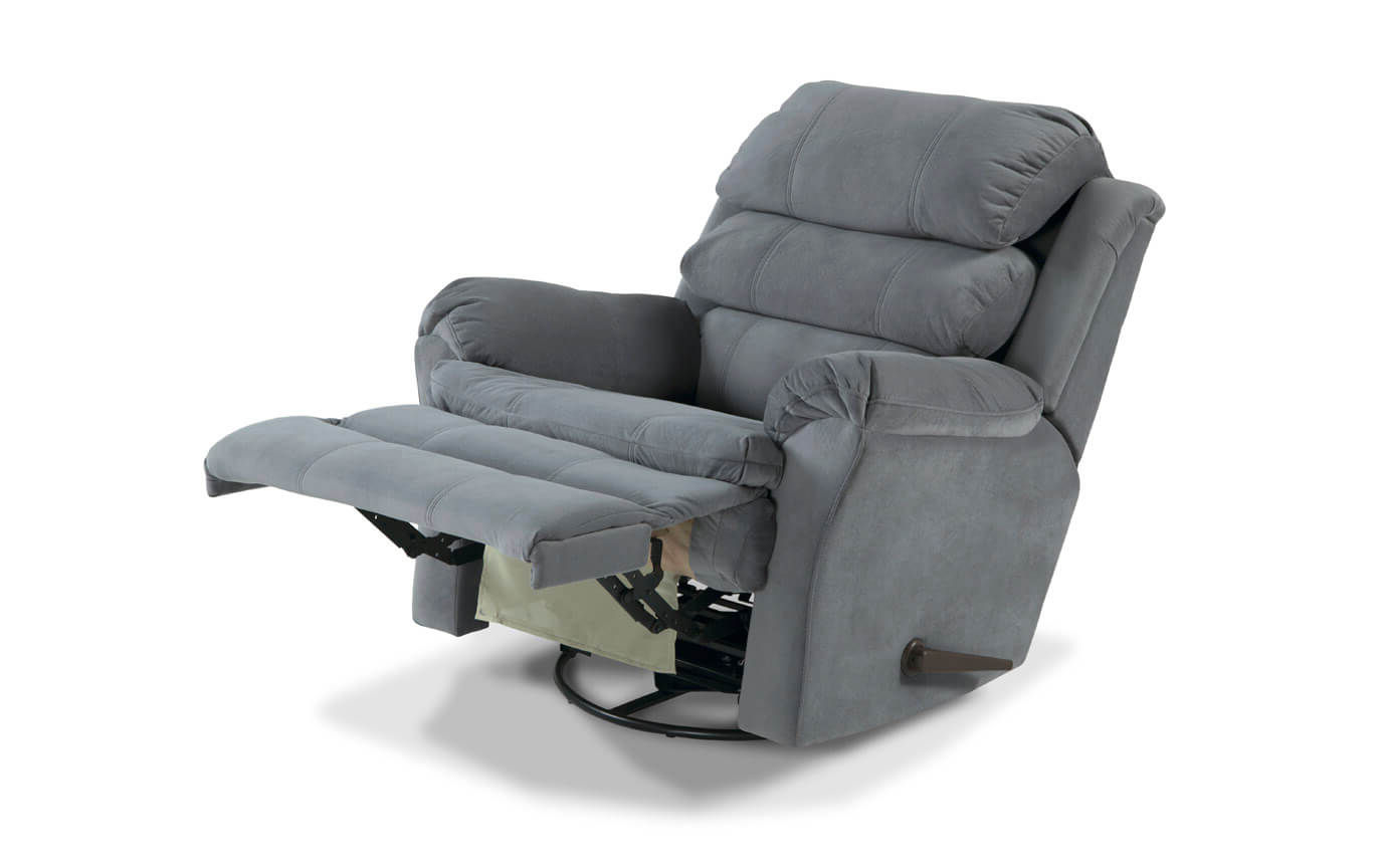 Decker Ii Fabric Swivel Rocker Recliners Regarding Current Leather Swivel Rocker Recliner And Its Benefits (View 4 of 20)