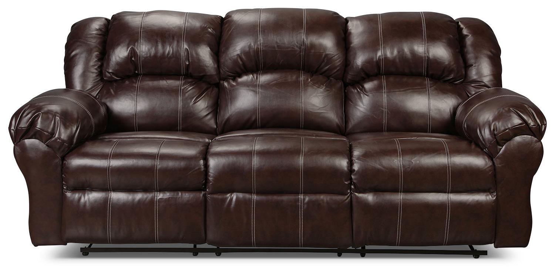 Decker Reclining Sofa – Brown (Gallery 19 of 20)