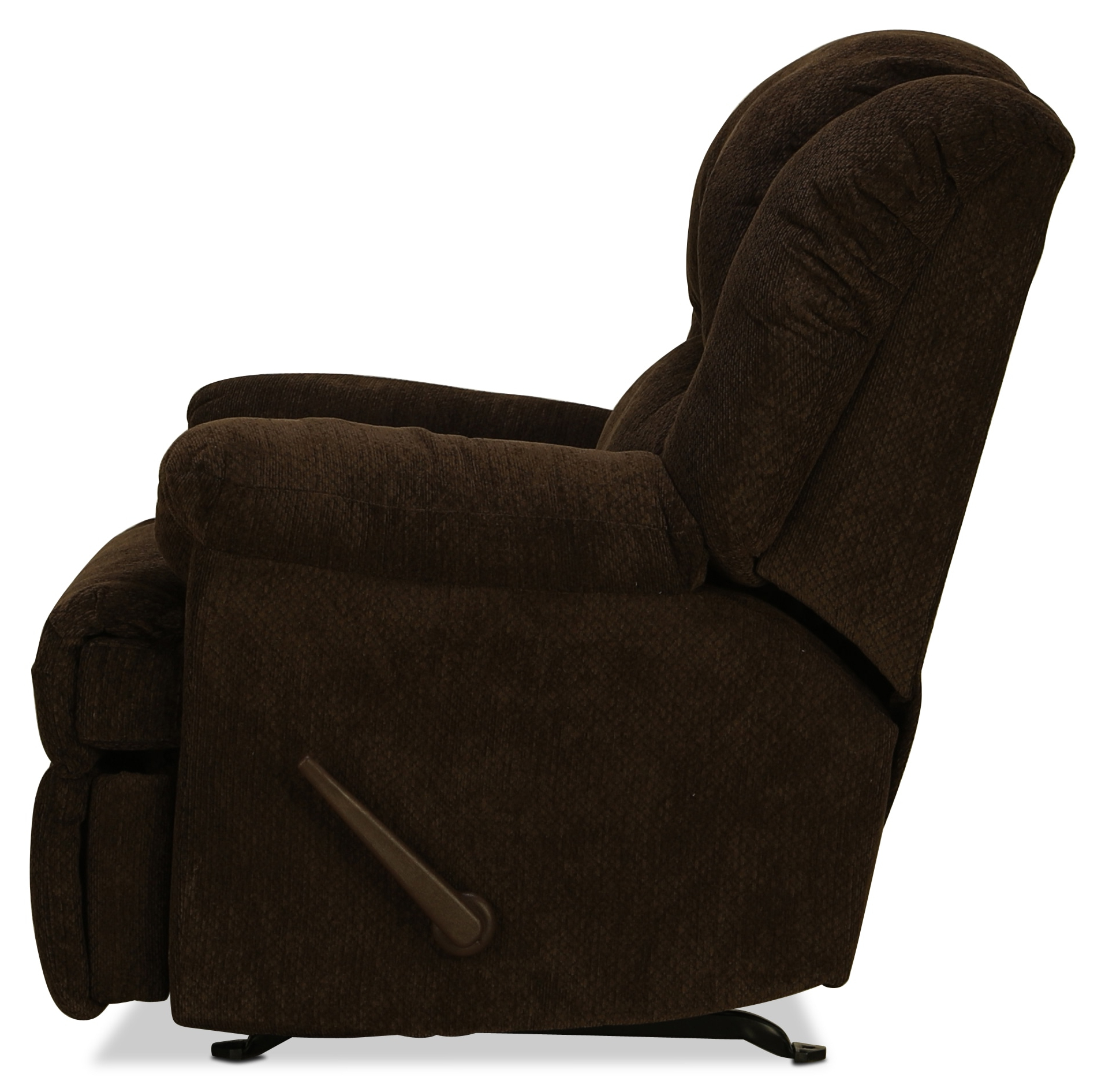 Decker Rocker Recliner – Chocolate (View 18 of 20)