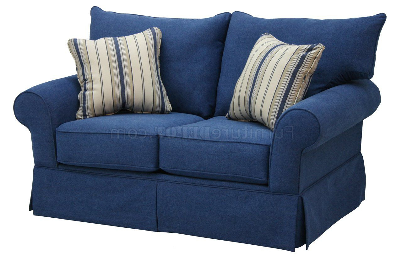 Denim Sofa, Office Inside Office Sofa Chairs (View 8 of 20)