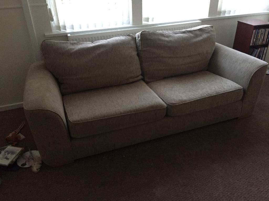 Devon Ii Arm Sofa Chairs Intended For Well Known 3 Seater Sofa And Arm Chair (View 4 of 20)