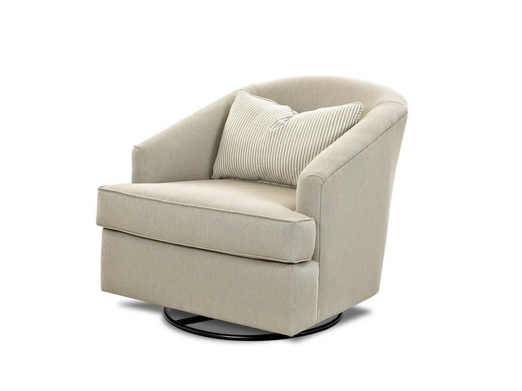 Devon Ii Swivel Accent Chairs Regarding Best And Newest Klaussner Living Room Devon Chairs K790P Swgl – Klaussner Home (View 4 of 20)