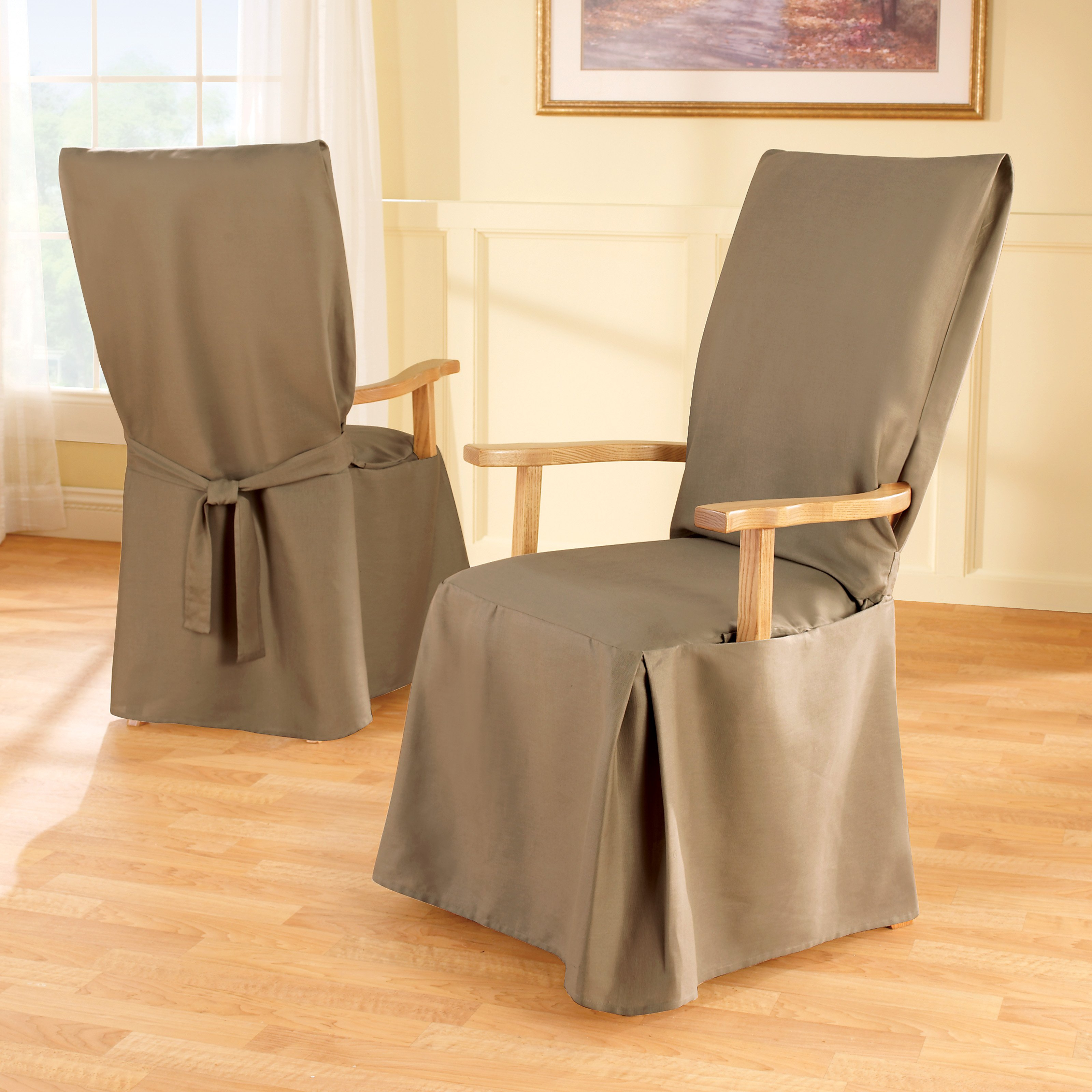 Dining Chair : Denim Dining Chair Slipcovers Ikea Chair Covers Roll Intended For Best And Newest Covers For Sofas And Chairs (View 13 of 20)