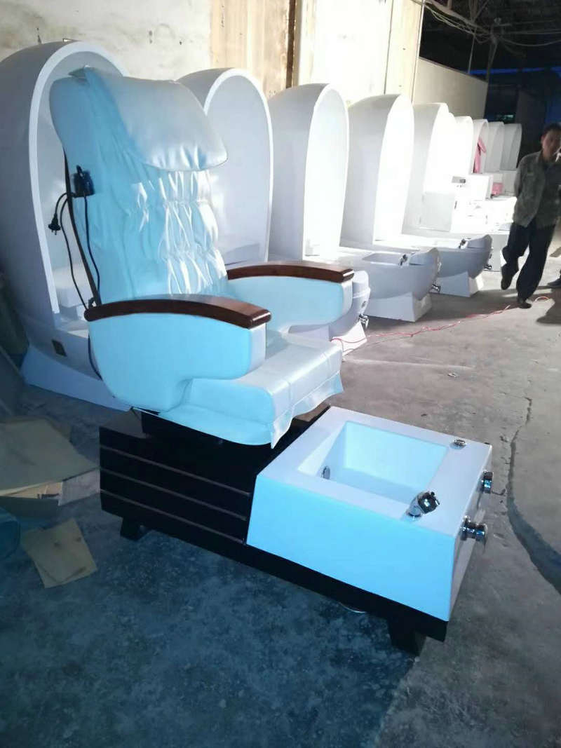 Electric Spa Manicure Pedicure Chair Medical Foot Massage Sofa Within Current Foot Massage Sofa Chairs (View 4 of 20)