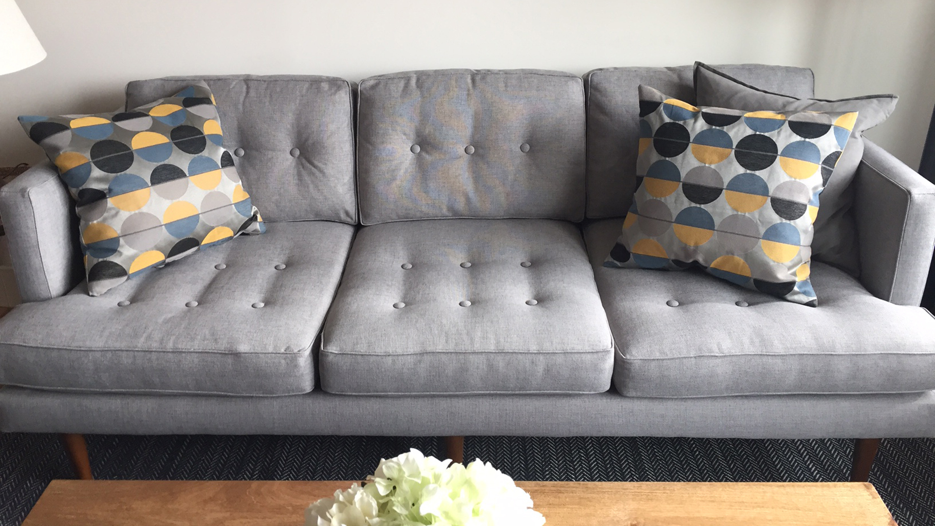 Elm Sofa Chairs Regarding Widely Used West Elm Peggy Sofa Taken Off Website (View 9 of 20)