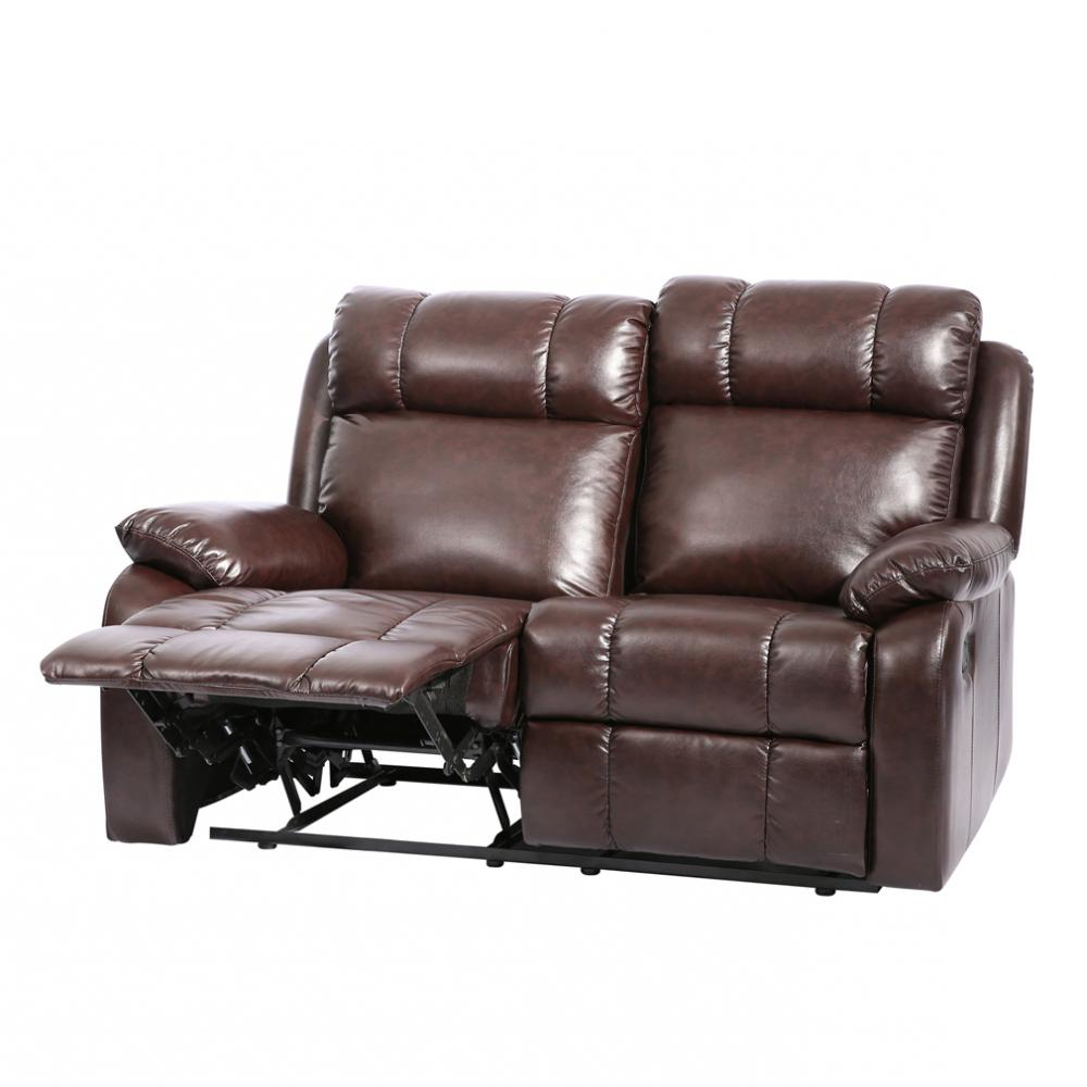 Factory Direct: Classic Double Reclining Loveseat Leather Living Inside Newest Sofa Chair Recliner (View 5 of 20)