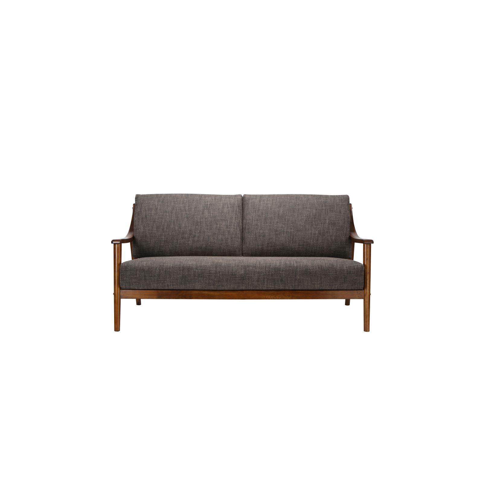 Famous Brennan Sofa Chairs Pertaining To Brennan 3 Seater (Fab) Lava Fabric Sofa – Sofa & Armchairs (View 8 of 20)