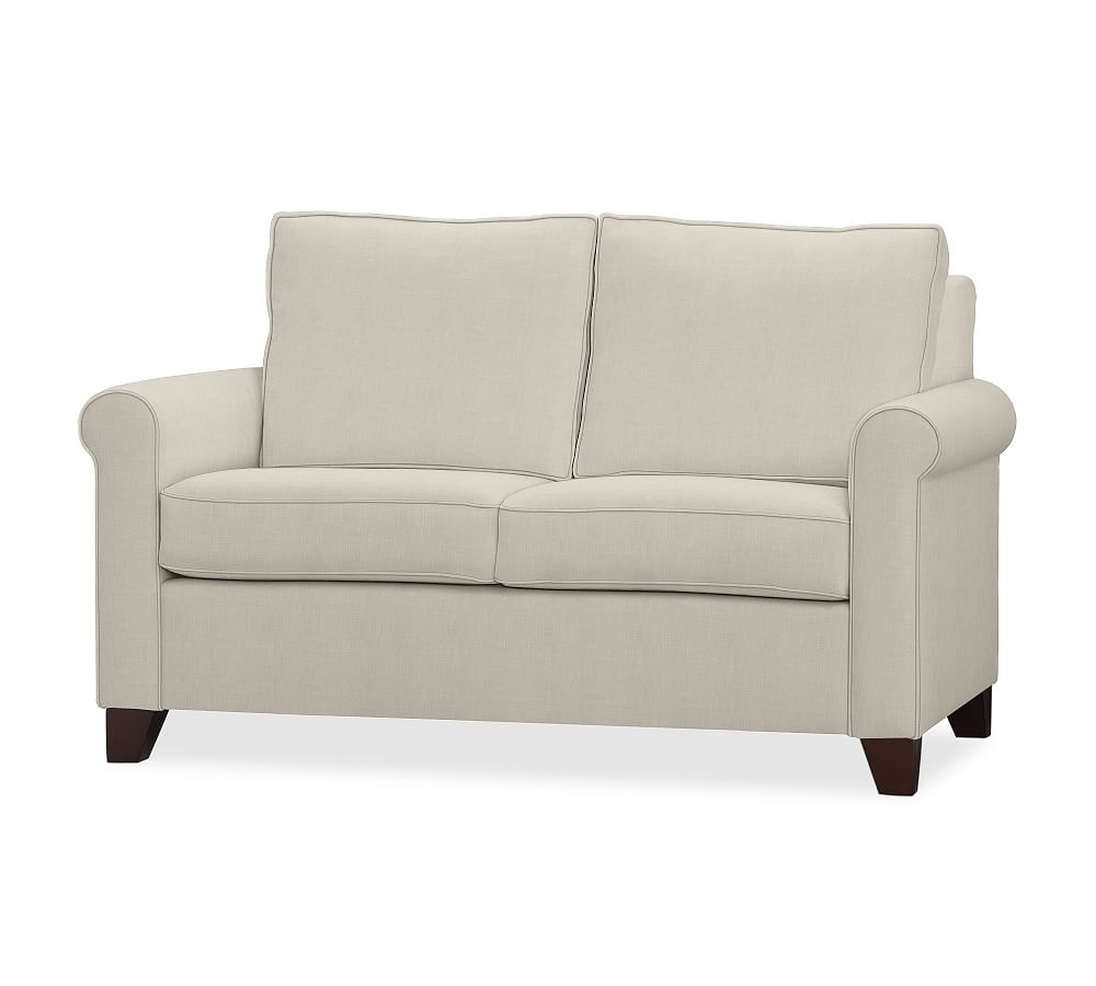 "Famous Cameron Sofa Chairs Regarding Cameron Roll Arm Upholstered Grand Sofa 98"", Polyester Wrapped (View 11 of 20)"