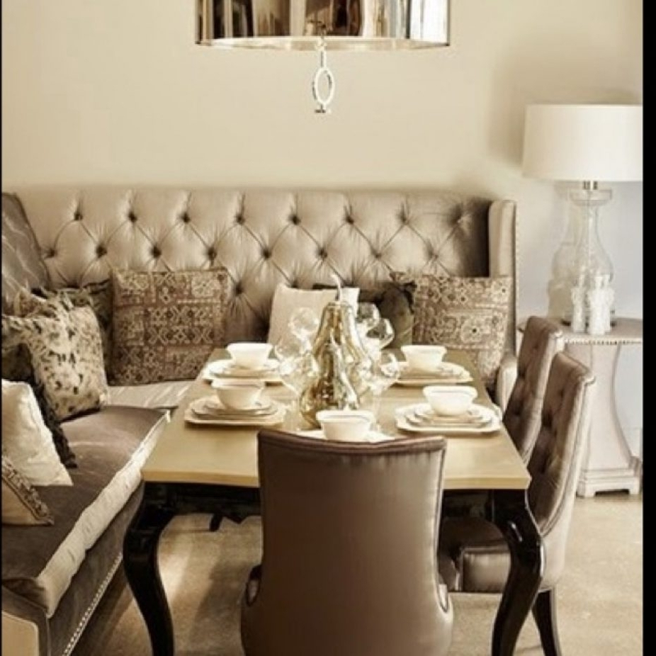 Famous Dining Table With Sofa Chairs Throughout (View 5 of 20)