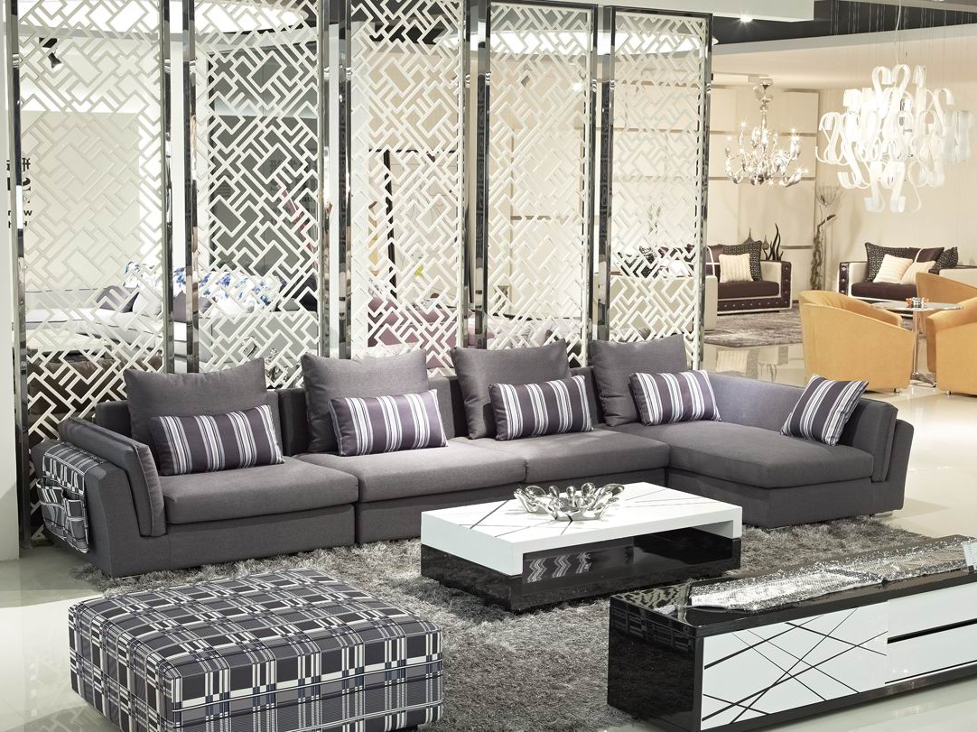 Famous London Dark Grey Sofa Chairs Within London Living Room Set S C Grey Chenille In Includes Sofa Chair (View 4 of 20)
