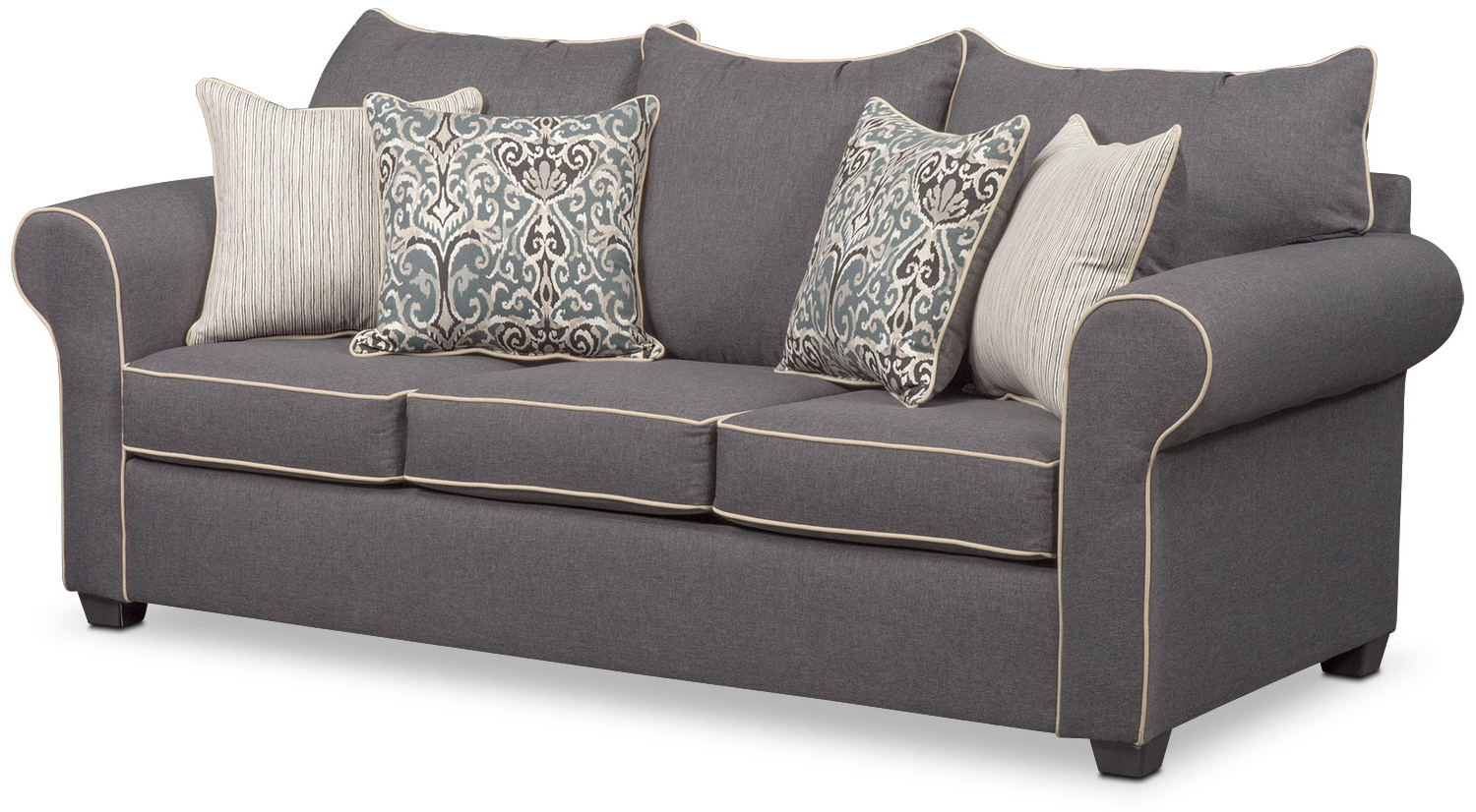 Fashionable Carla Queen Innerspring Sleeper Sofa, Loveseat, And Chair Set For Sofa Loveseat And Chairs (View 4 of 20)