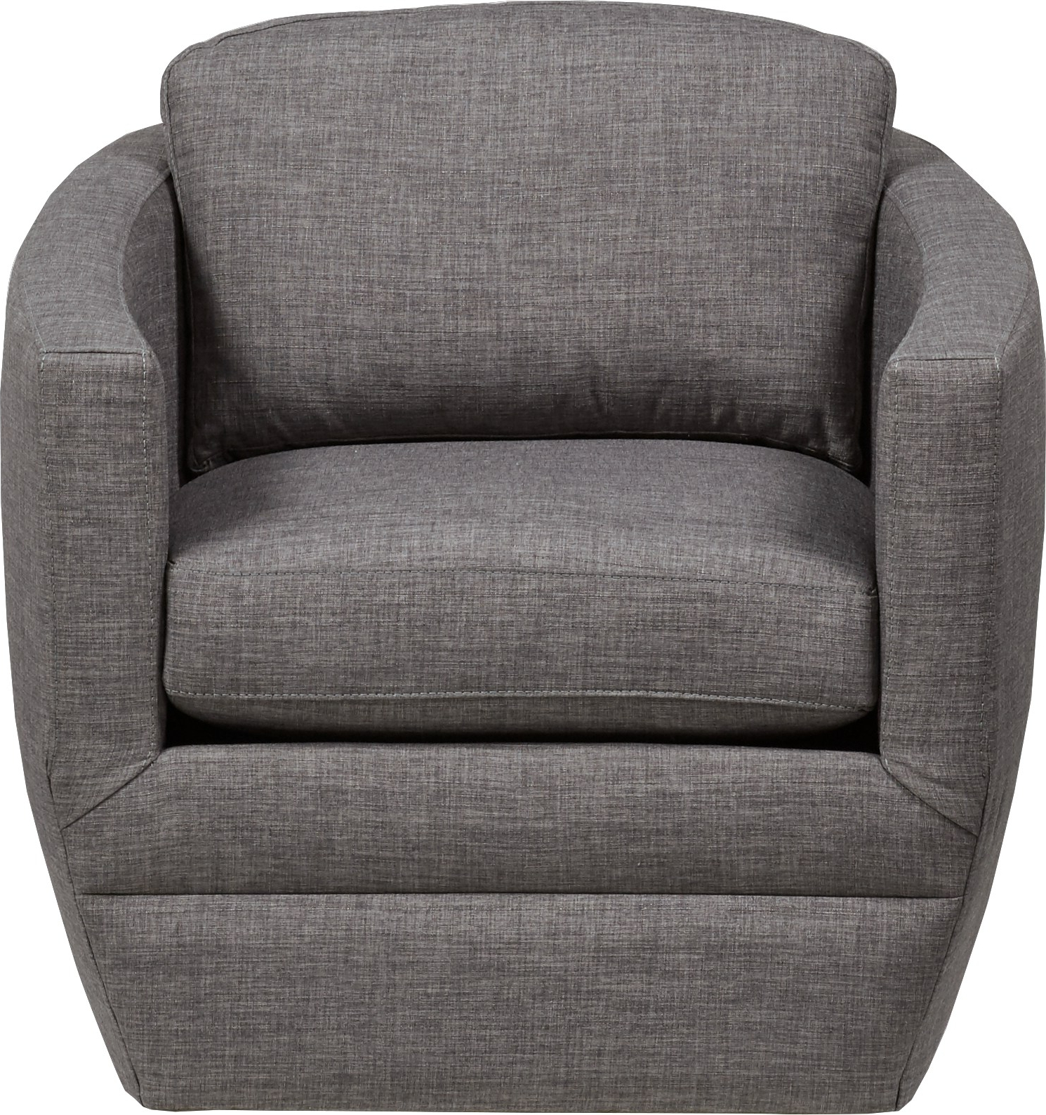 Fashionable Dark Grey Swivel Chairs Regarding Harbour City San Marino Dark Gray Swivel Chair – Chairs (Gray) (View 8 of 20)