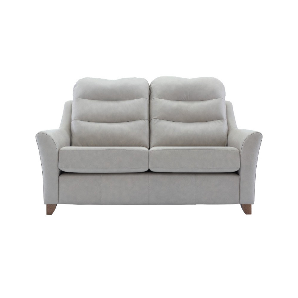 Fashionable G Plan Tate 2 Seater Sofa In Leather Pertaining To Tate Ii Sofa Chairs (View 6 of 20)