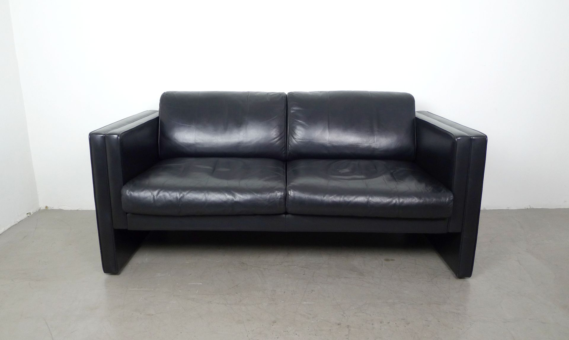 Fashionable Leather Sofajürgen Lange For Walter Knoll, 1980s For Sale At Pamono Throughout Walter Leather Sofa Chairs (View 3 of 20)