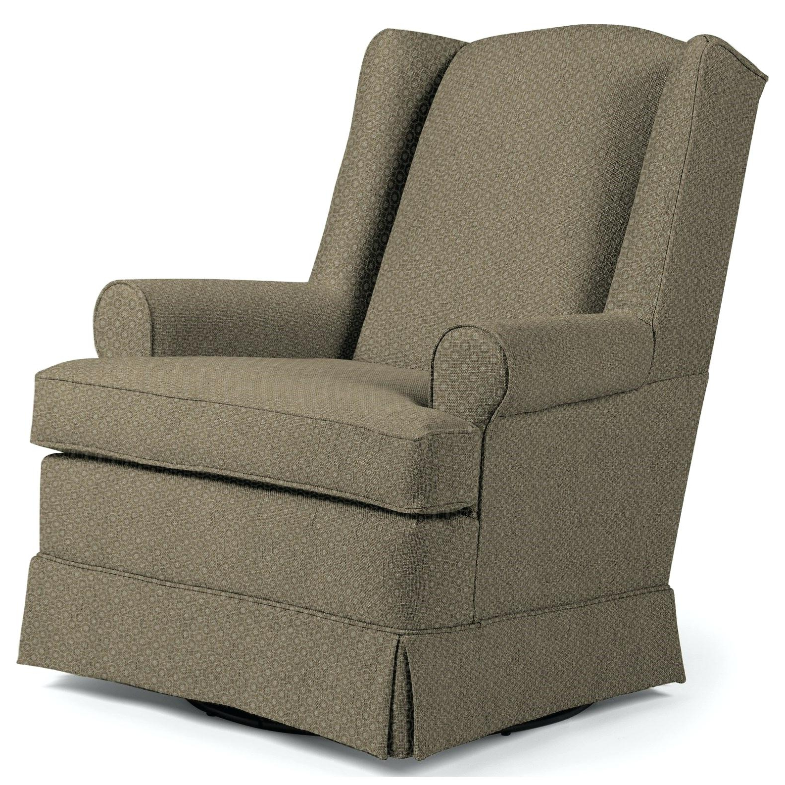 Fashionable Skirted Club Chair Skirted Swivel Club Chair – Mattdefede Within Bailey Roll Arm Skirted Swivel Gliders (View 12 of 20)