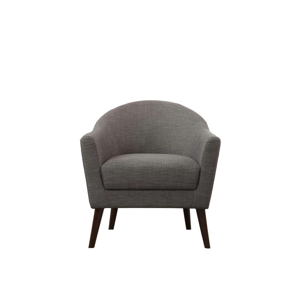 Favorite Amari Swivel Accent Chairs For Jennifer Taylor Lia Gold Barrel Chair 63320 1 959 – The Home Depot (View 9 of 20)