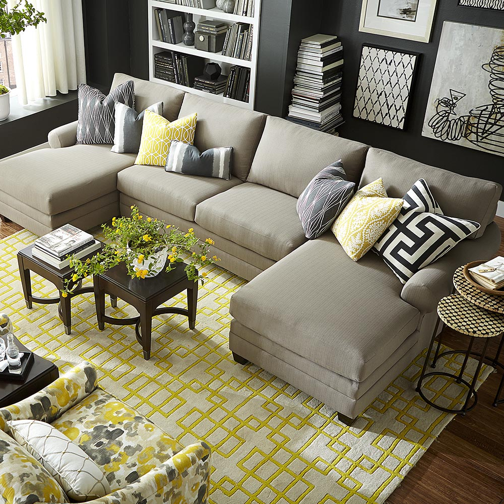 Favorite Chaise Sofa Chairs Intended For Cu (View 14 of 20)