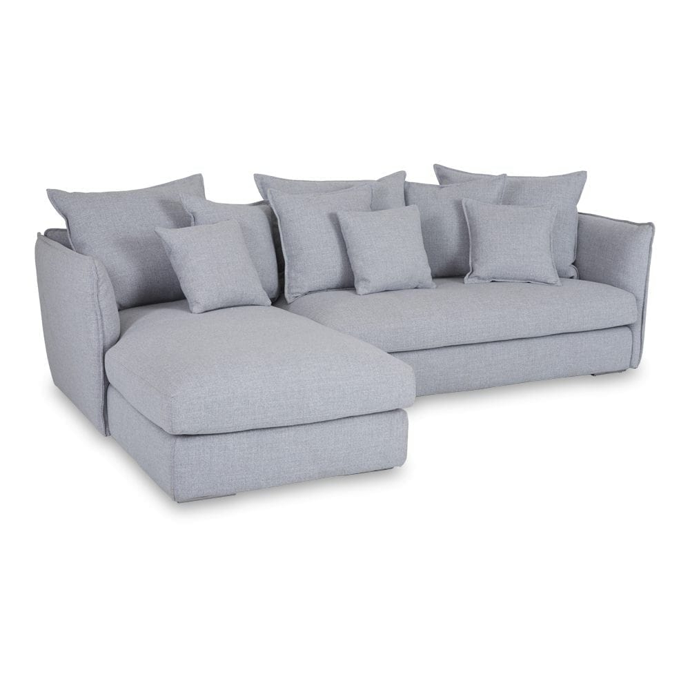 Favorite Chaise Sofa Chairs With Regard To Modern Designer Lisa Grey Chaise Lounge – Sectional Sofa (View 11 of 20)