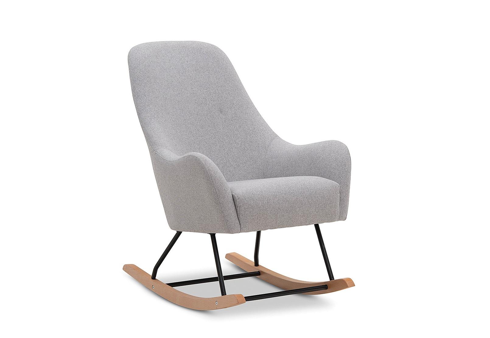 Favorite Gwen Sofa Chairs Regarding Gwen Accent Rocking Chair (View 12 of 20)