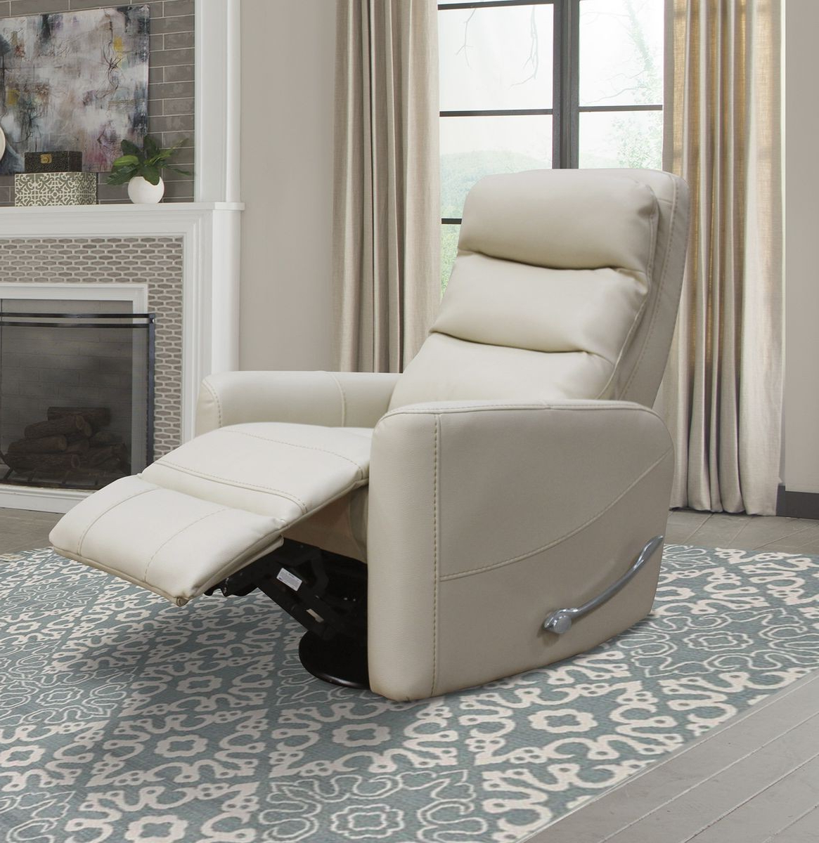 Favorite Hercules Oyster Swivel Glider Recliners With Regard To Parker Living Hercules Glider Swivel Recliner With Articulating (View 6 of 20)