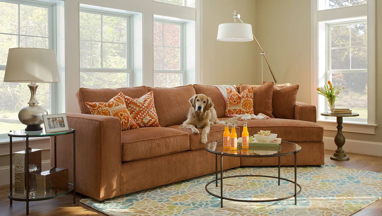 Favorite Norwalk Sofa And Chairs In The Milford Sectional Is Norwalk's Ultimate Family (and Pet (View 13 of 20)