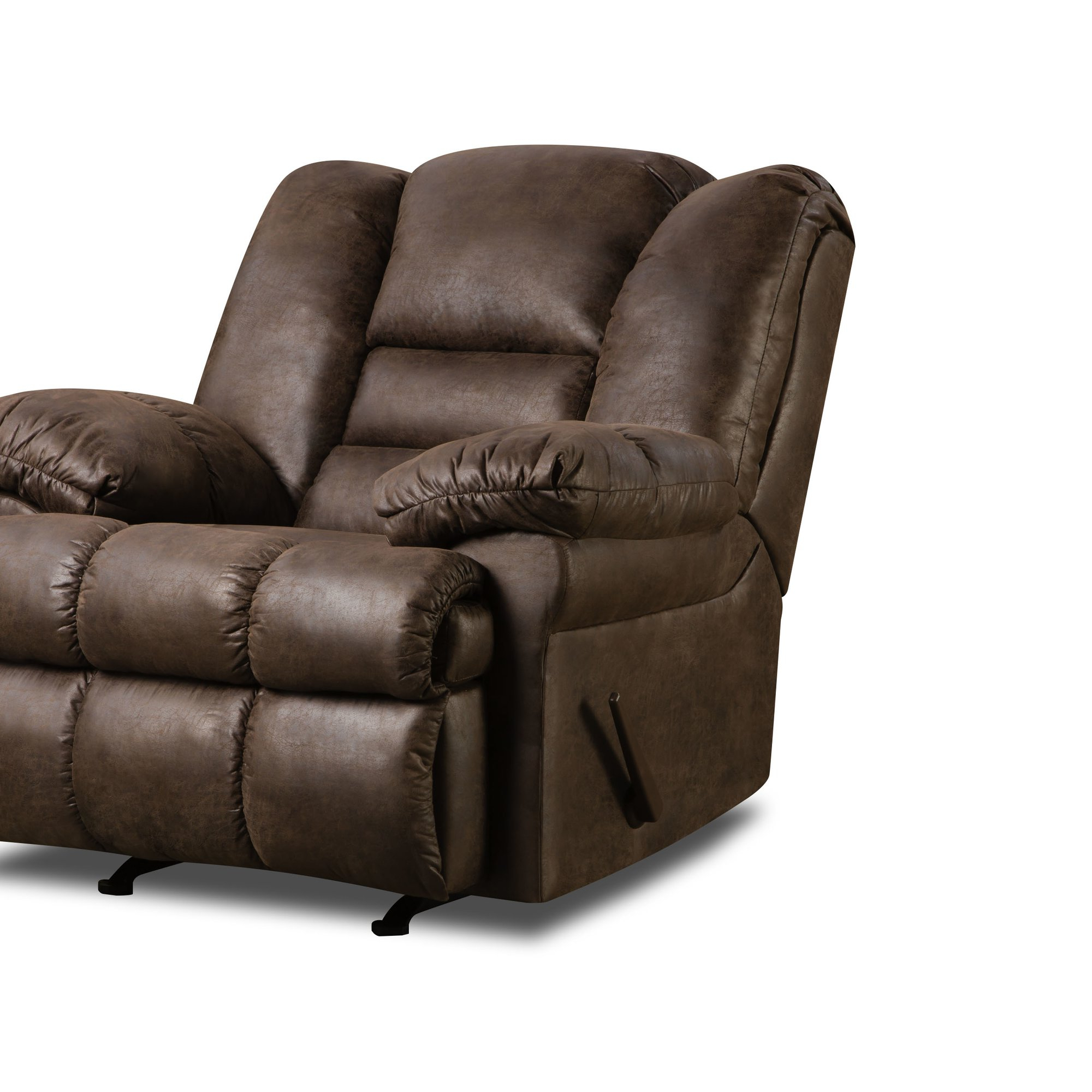 Favorite Rogan Leather Cafe Latte Swivel Glider Recliners Throughout Furniture: Surprising Simmons Recliners For Contemporary Living Room (View 13 of 20)