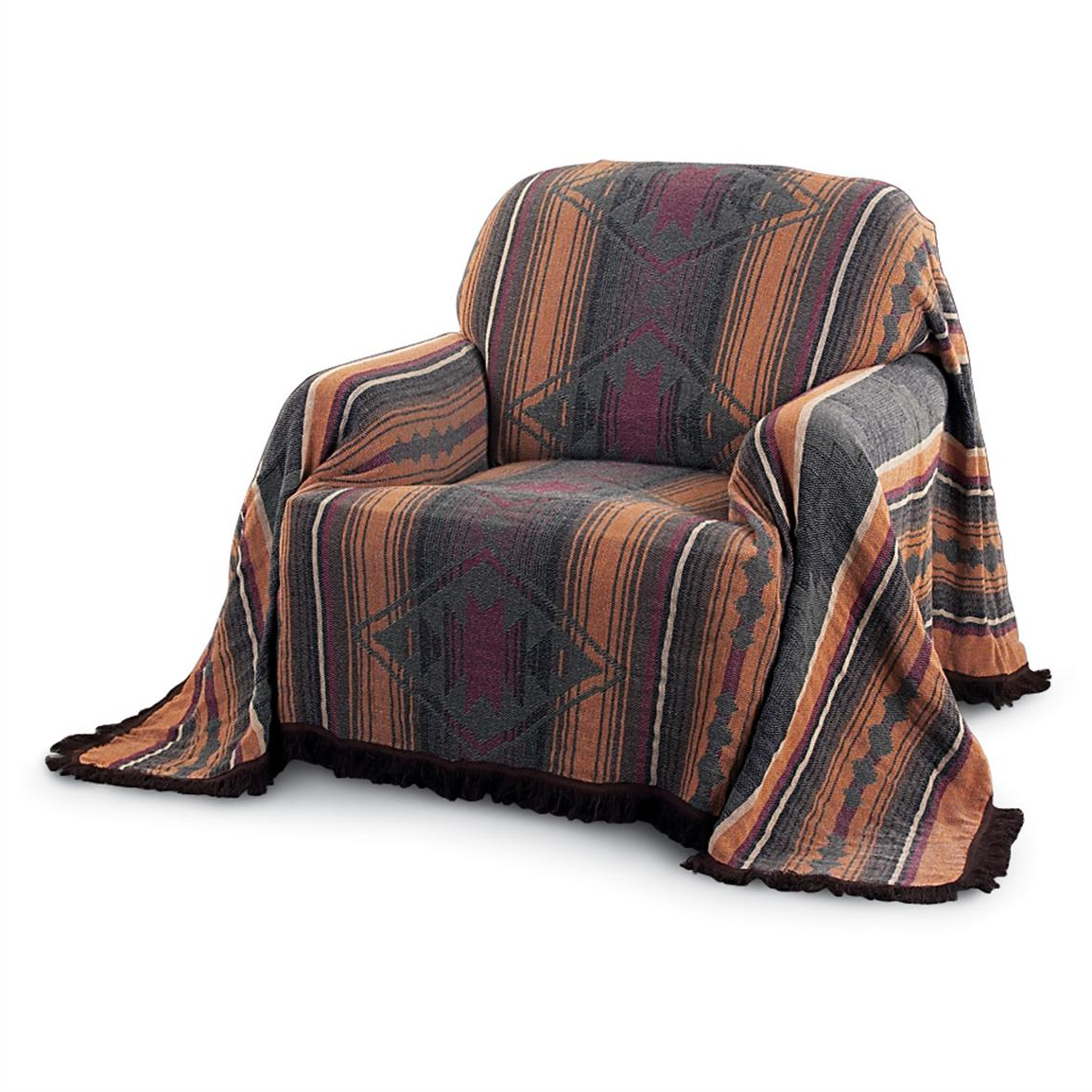 Favorite Throws For Sofas And Chairs Intended For Canyon Southwest Furniture Throw – 125722, Blankets & Throws At (View 8 of 20)