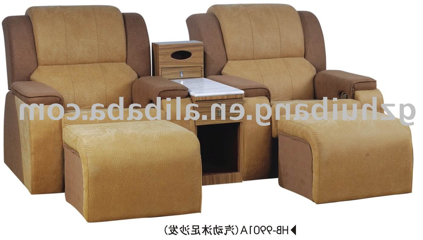 Foot Massage Sofa Chairs For Well Known 2012 Modern Foot Massage Sofa,foot Spa Sofa With Tv Stand – Buy Foot (View 8 of 20)