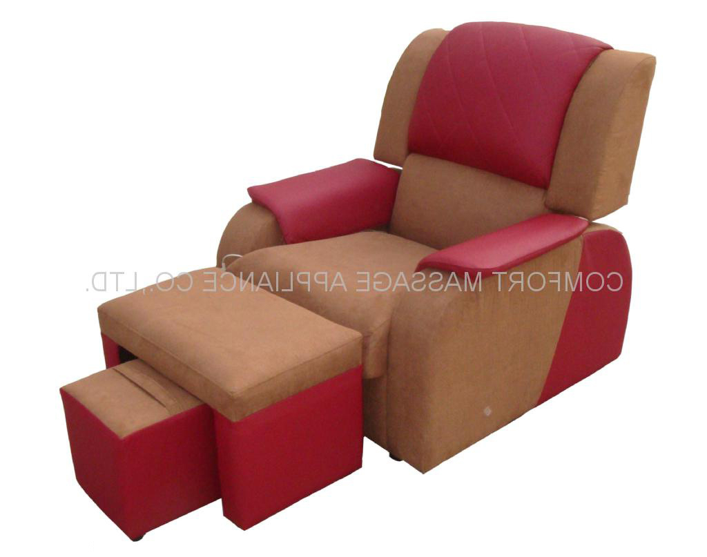 Foot Massage Sofa Chairs In Famous China Foot Massage Sofa With Pu Leather&cloth (Sf Pu) – China (Gallery 18 of 20)