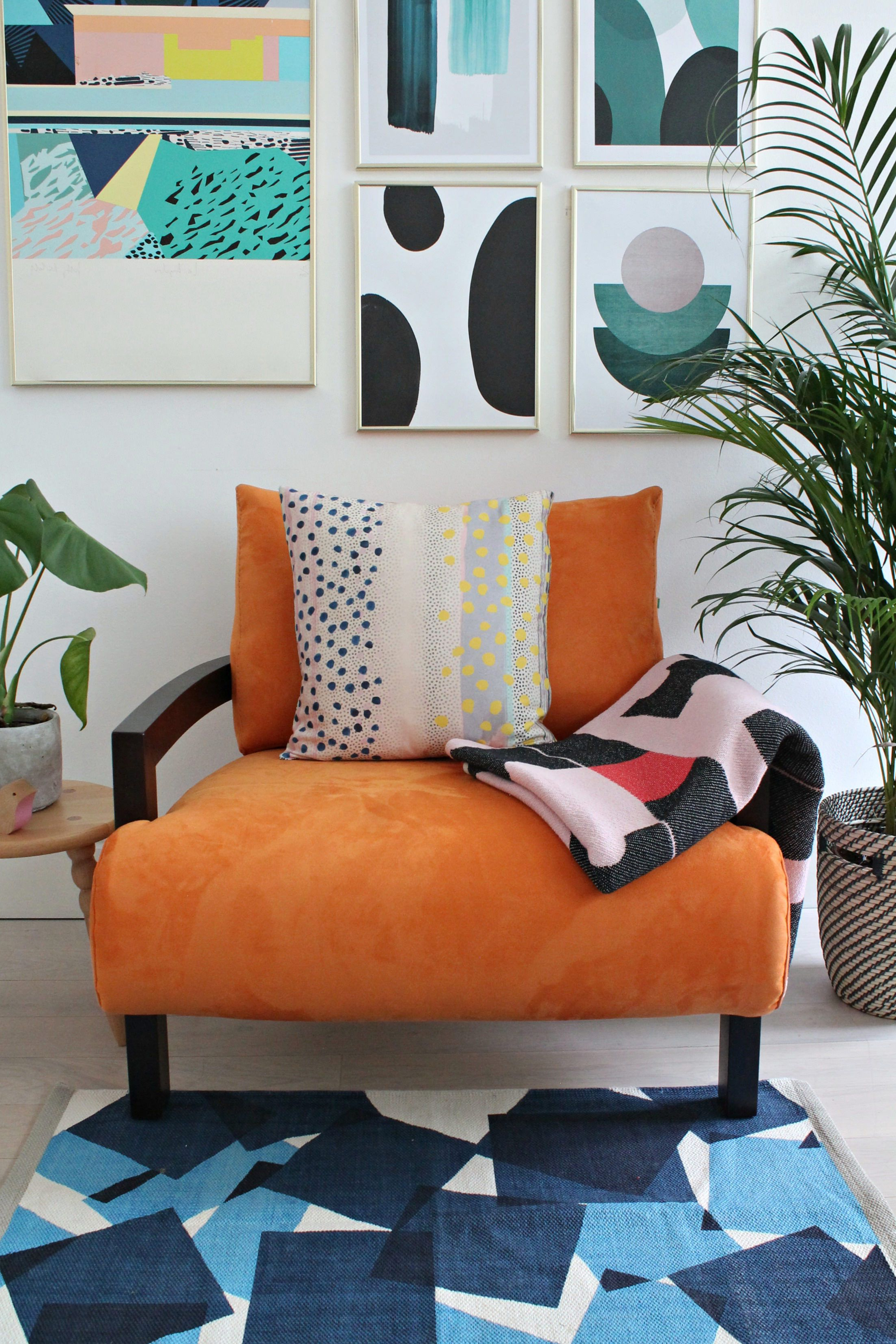 Funky For Recent Orange Sofa Chairs (Gallery 6 of 20)