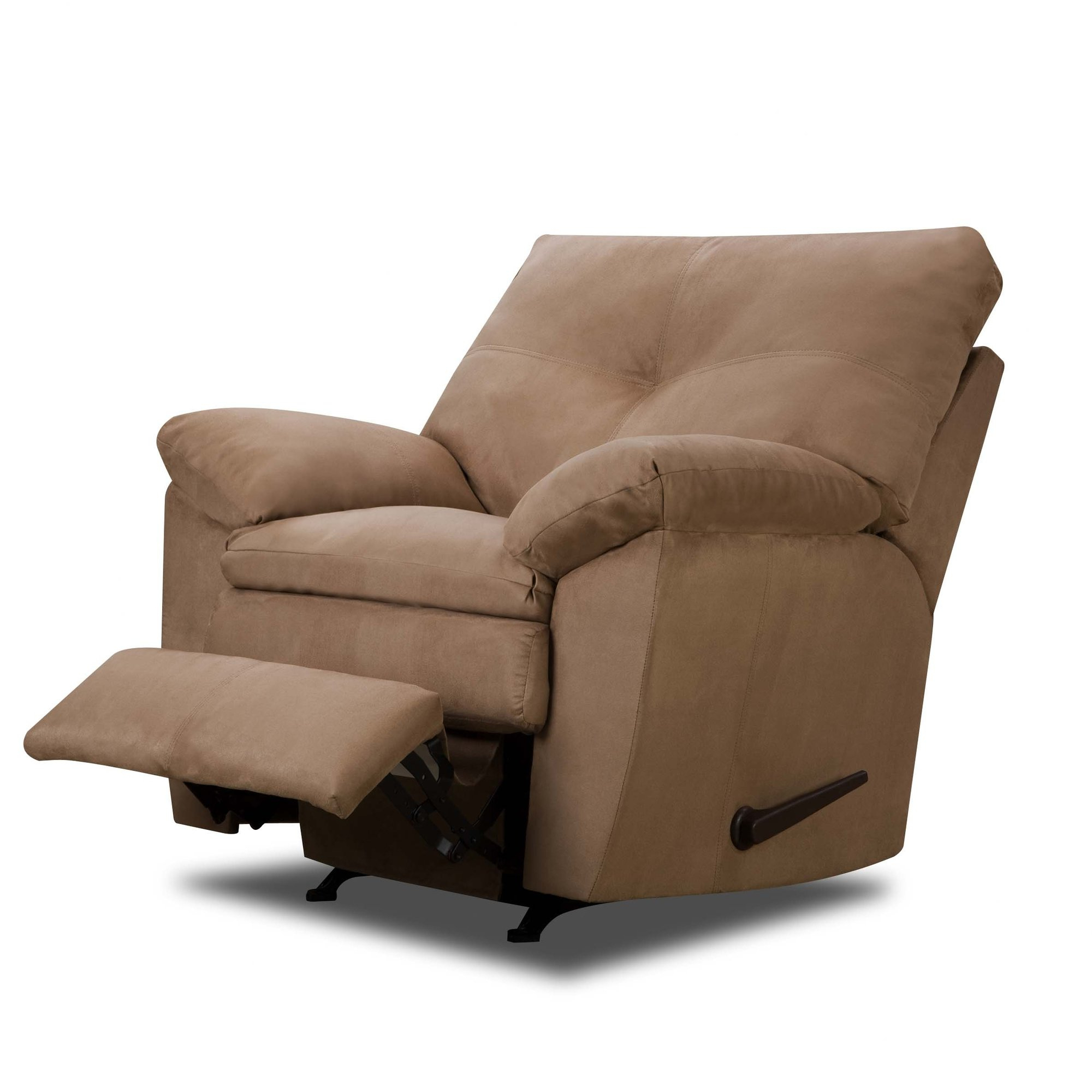Furniture: Surprising Simmons Recliners For Contemporary Living Room Within Well Liked Rogan Leather Cafe Latte Swivel Glider Recliners (View 11 of 20)