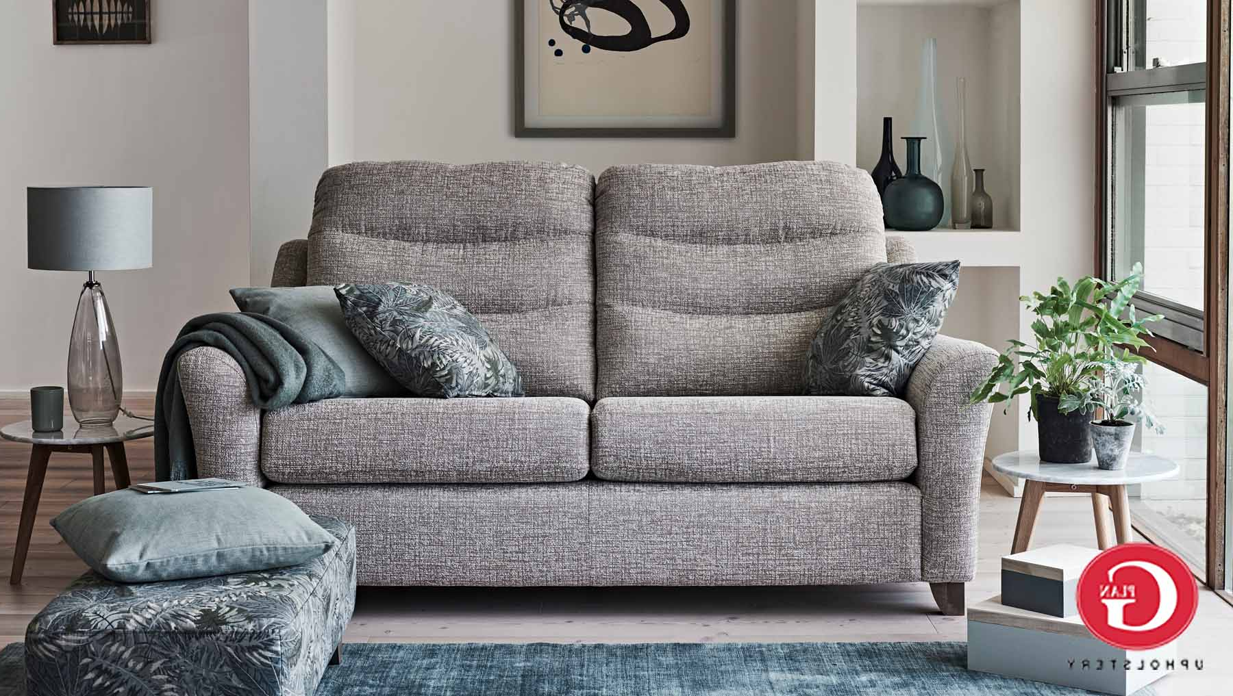 G Plan Tate – Fabric Ranges – Sofas & Chairs (View 7 of 20)