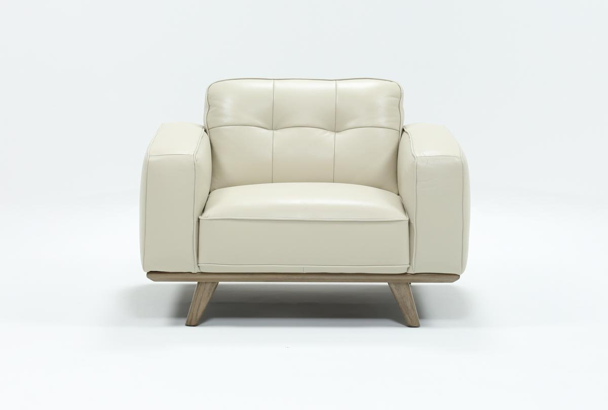 Gina Grey Leather Sofa Chairs Inside Latest Caressa Leather Dove Grey Chair (View 5 of 20)