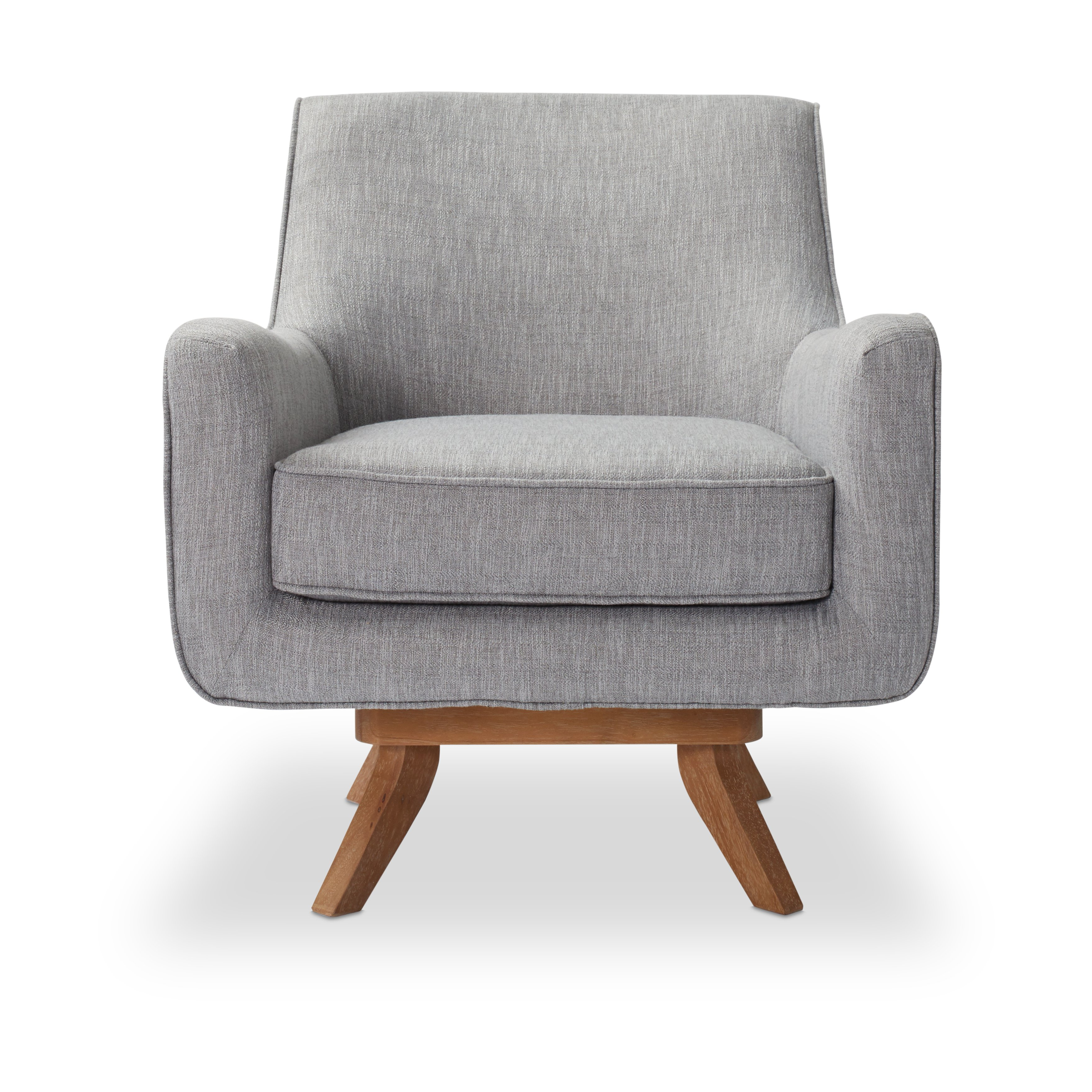 Gray Swivel Chair – Frasesdeconquista – With Regard To Famous Amala Dark Grey Leather Reclining Swivel Chairs (View 17 of 20)
