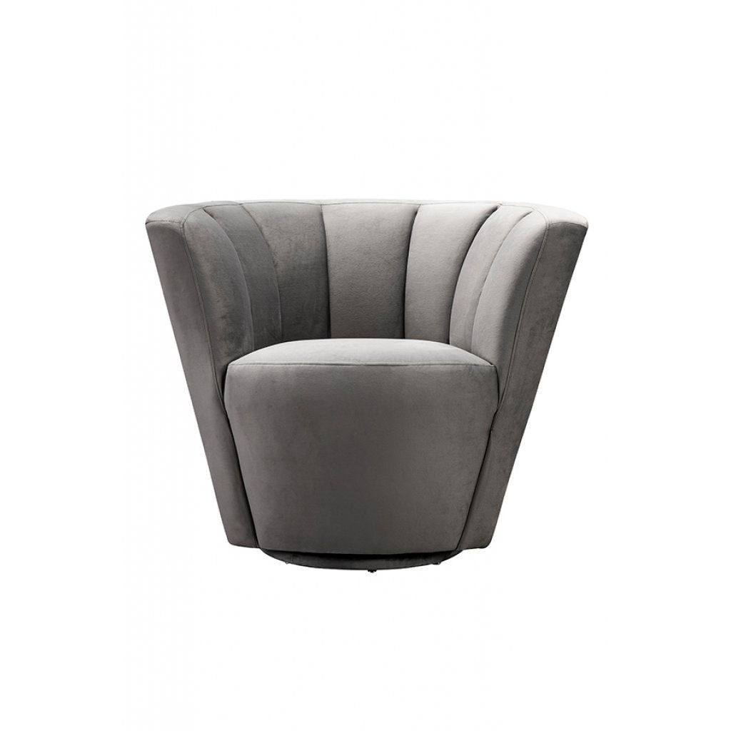 Grey Swivel Chairs Throughout Famous My Furniture – Lorianna Armchair/ Mid Century Armchair / Shell Chair (View 6 of 20)