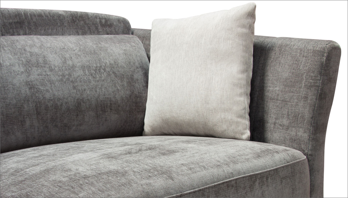 Haiku Designs For Lucy Grey Sofa Chairs (View 16 of 20)