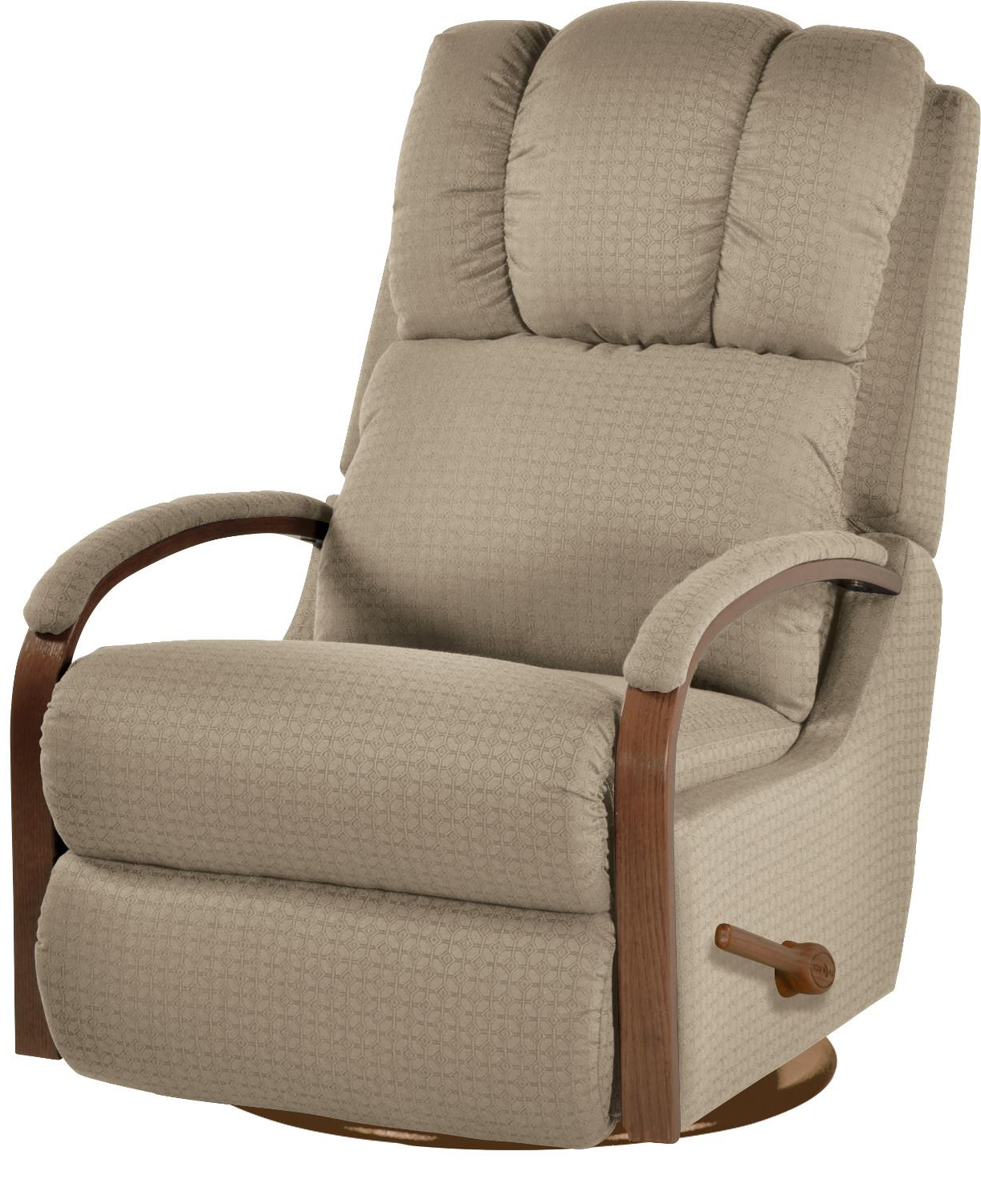 Harbor Grey Swivel Accent Chairs In Trendy Harbor Town Reclina Glider® Swivel Reclinerla Z Boy (Gallery 12 of 20)