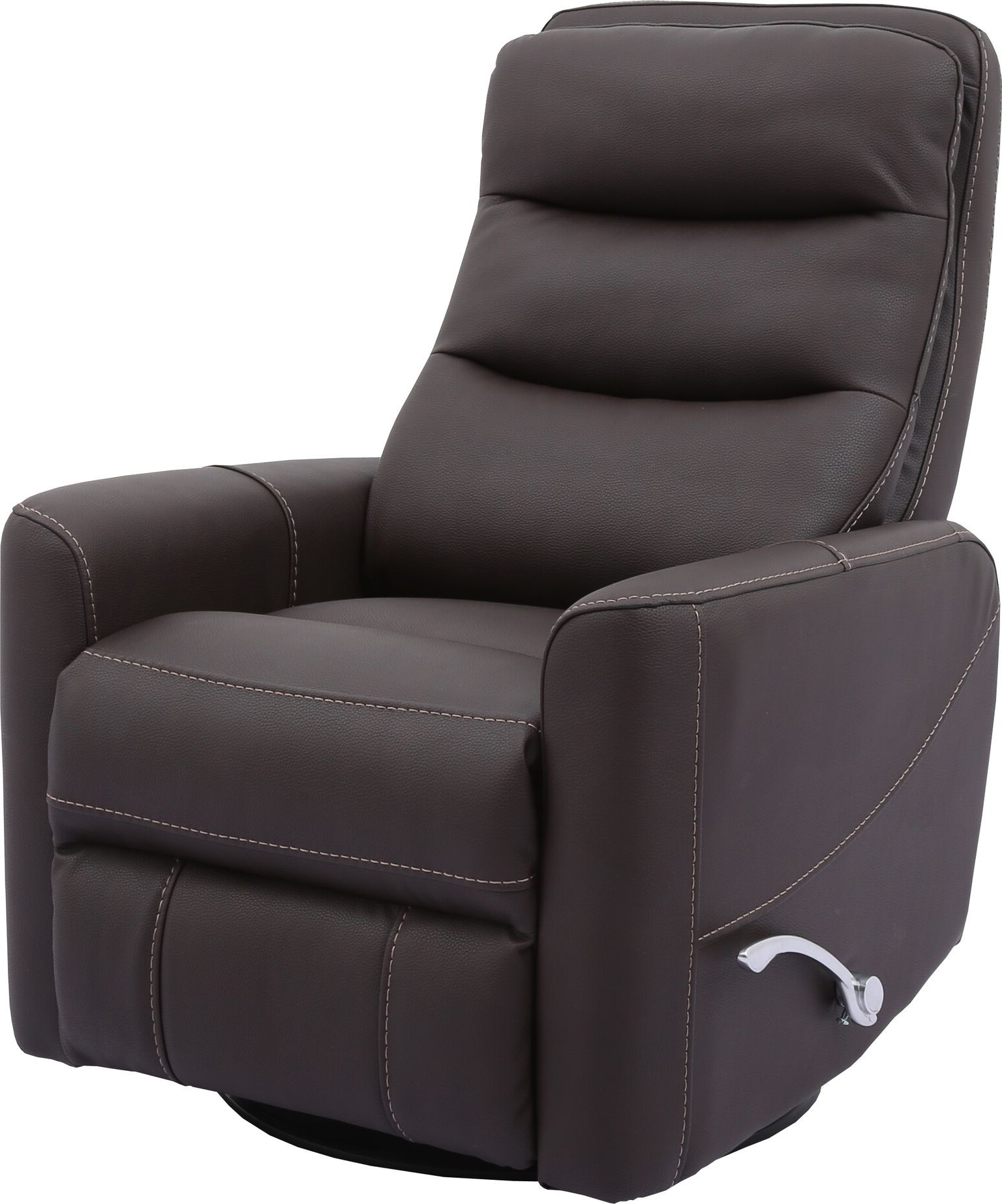 Hercules  Chocolate  Swivel Glider Recliner With Articulating Headrest In Current Hercules Chocolate Swivel Glider Recliners (Gallery 1 of 20)