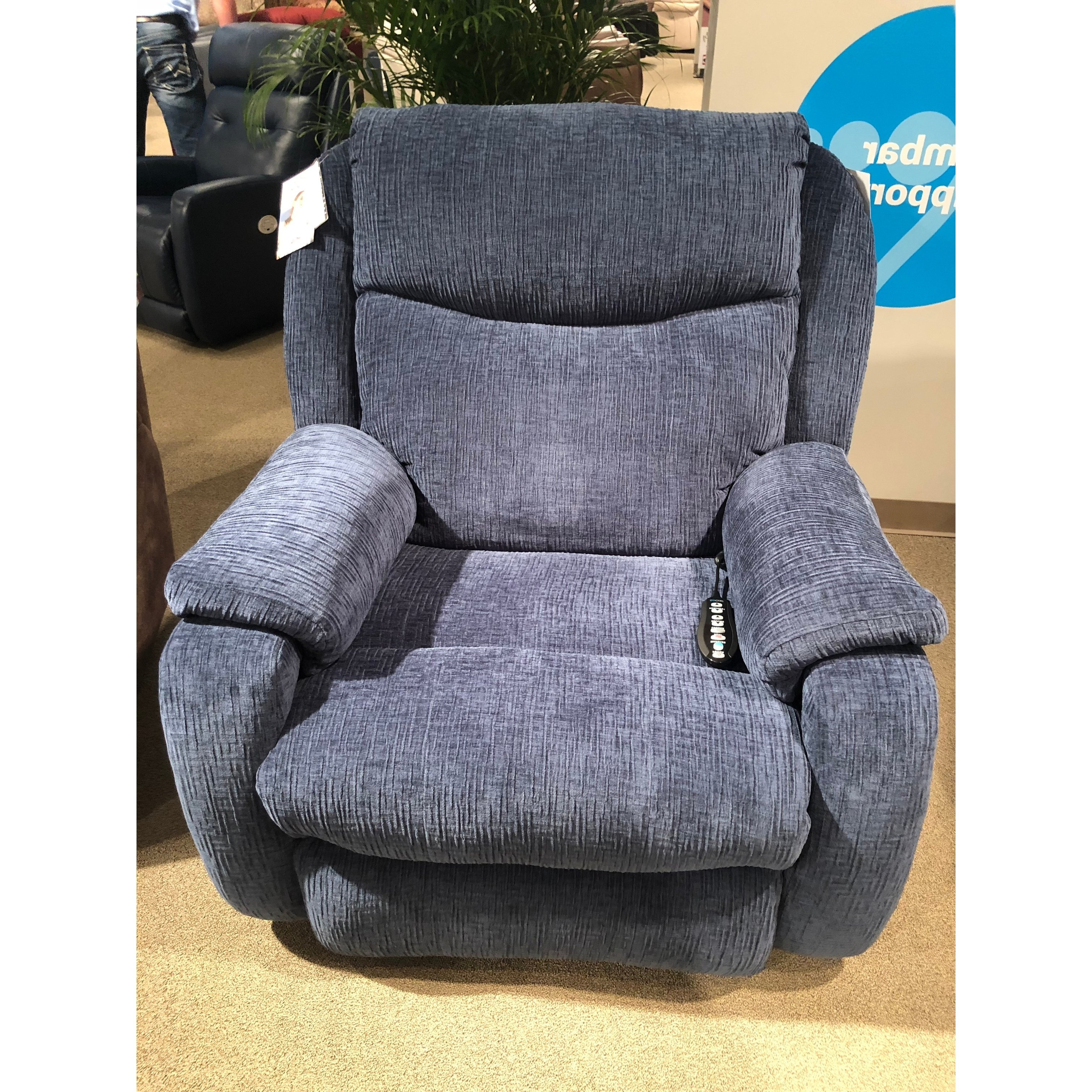Hercules Grey Swivel Glider Recliners Regarding Most Current Shop Southern Motion's Hercules Socozi Massage Big Man's Recliner (View 9 of 20)