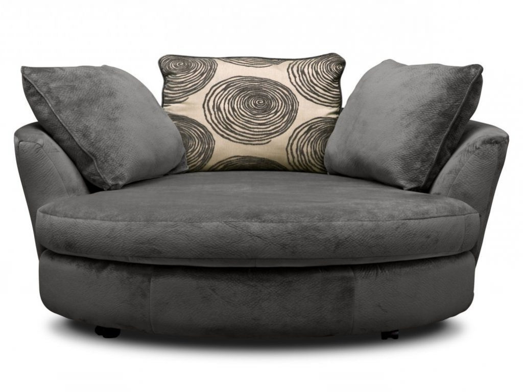 Featured Photo of Round Sofa Chair Living Room Furniture