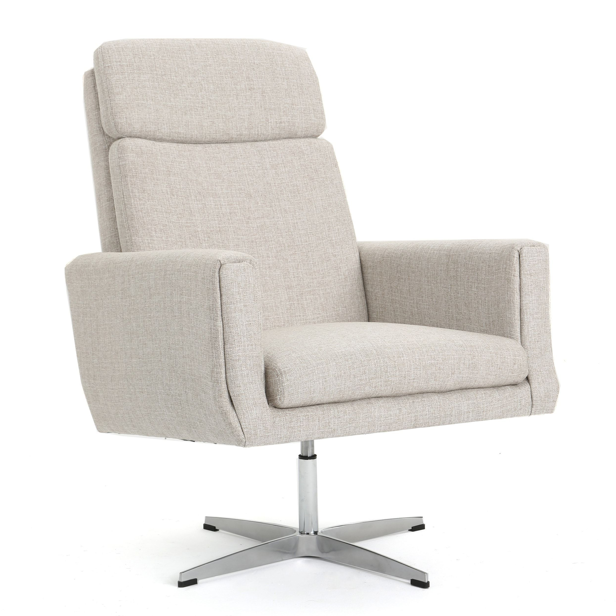 Featured Photo of Harbor Grey Swivel Accent Chairs
