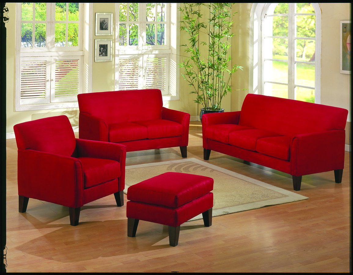 How To Make A Statement With Red Living Room Furniture – Blogbeen Inside Most Up To Date Red Sofas And Chairs (Gallery 2 of 20)