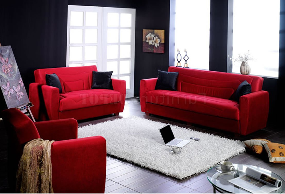 How To Make A Statement With Red Living Room Furniture – Blogbeen With Regard To Preferred Red Sofas And Chairs (Gallery 12 of 20)