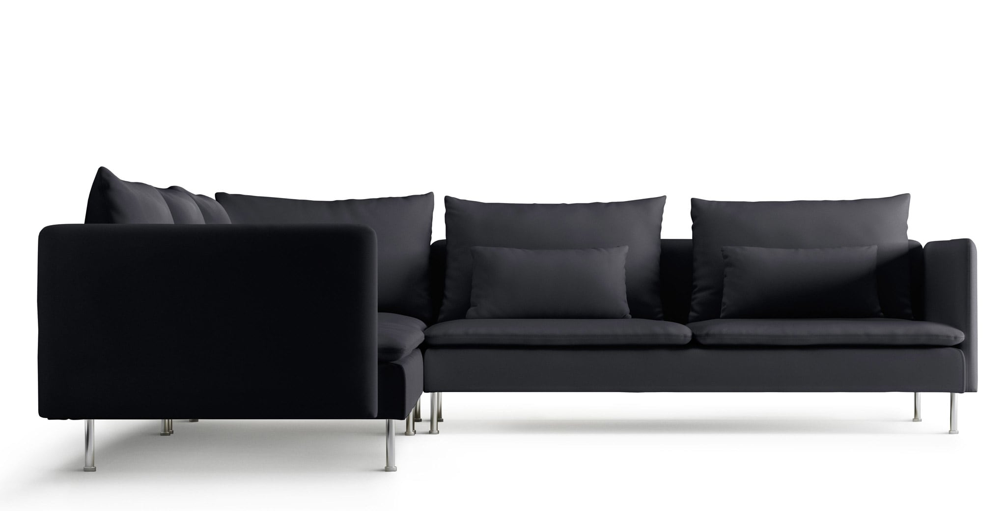 Ikea Fabric Corner Sofas (Gallery 3 of 20)