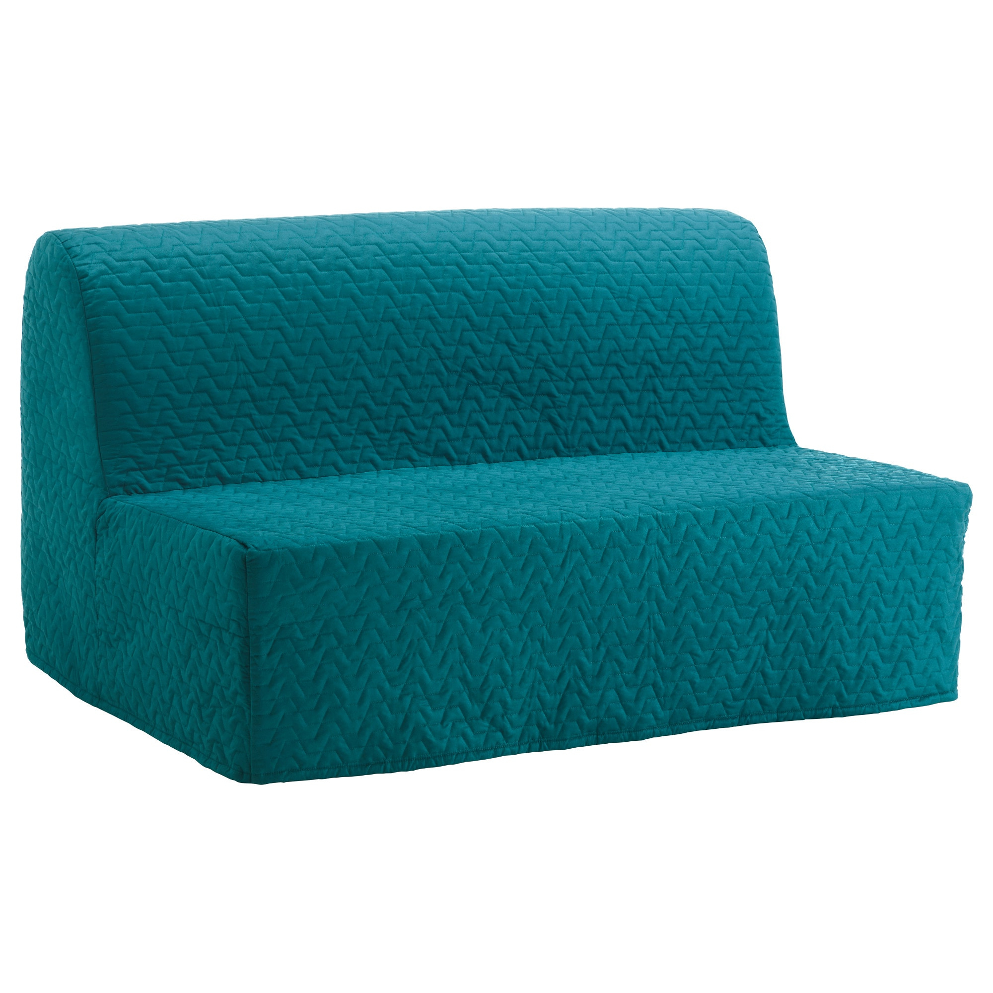 Ikea Sofa Chairs Within Recent Lycksele Murbo Two Seat Sofa Bed Vallarum Turquoise – Ikea (View 10 of 20)