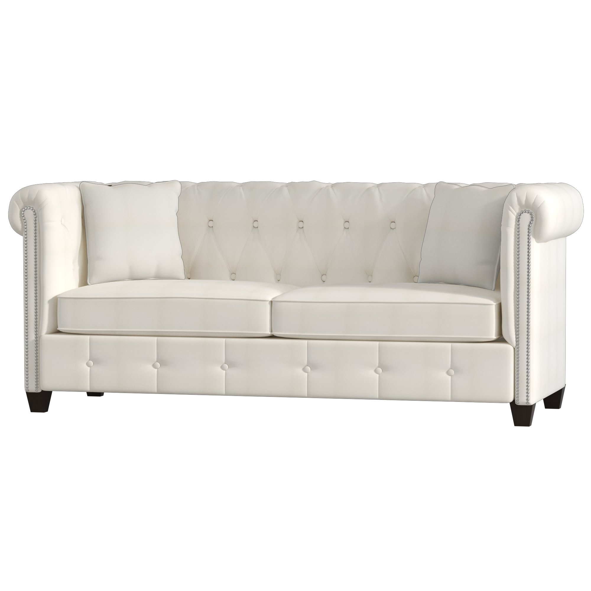 Josephine Sofa Chairs Throughout Most Recently Released Wayfair Custom Upholstery™ Josephine Tufted Chesterfield Sofa (View 11 of 20)