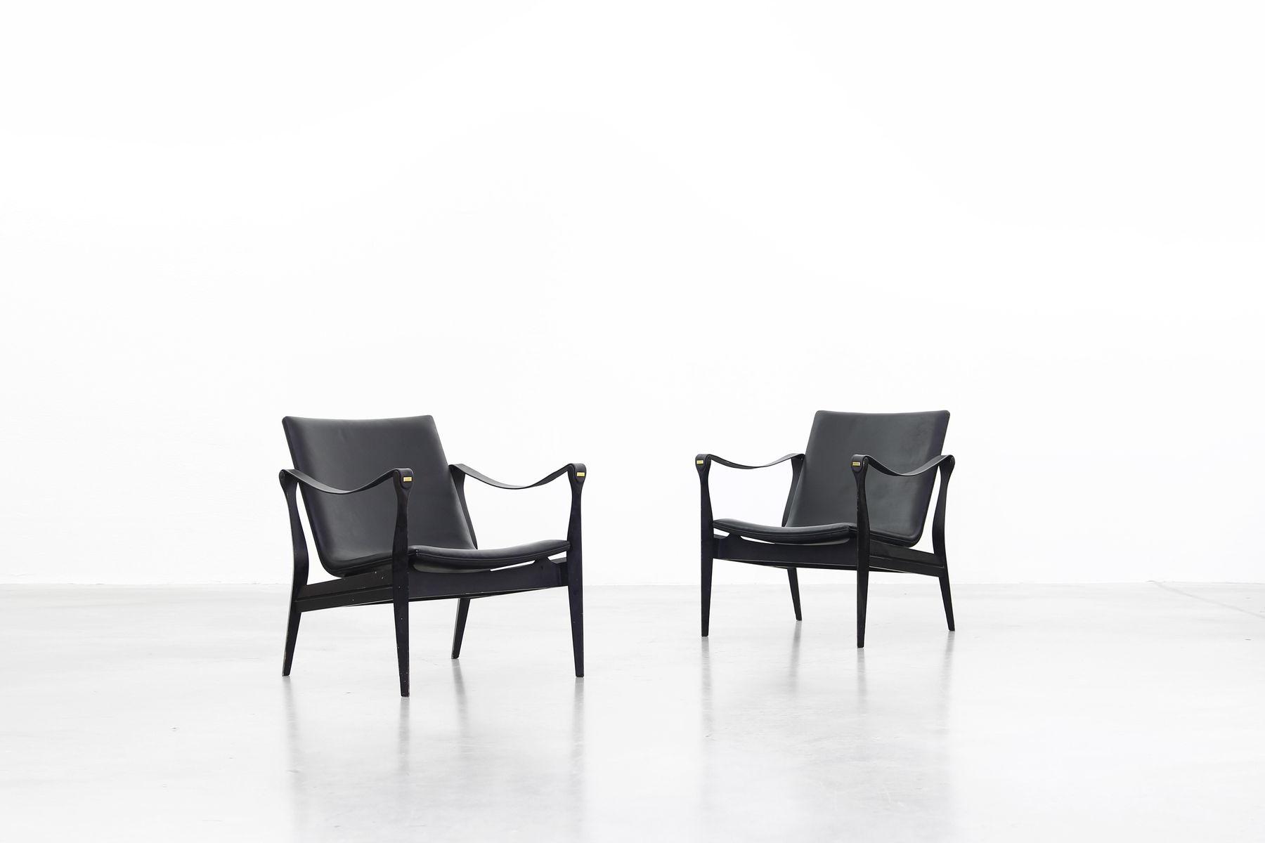 Karen Sofa Chairs Regarding Most Current Vintage Safari Lounge Chairebbe And Karen Clemmensen For Fritz (View 13 of 20)
