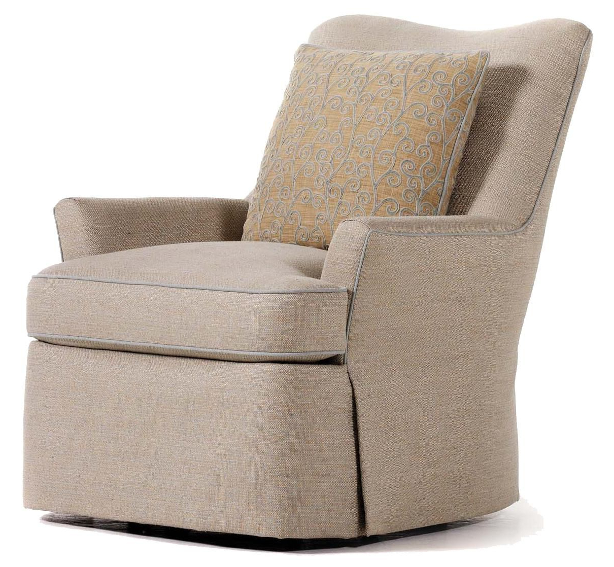 Katrina Beige Swivel Glider Chairs For Popular Durban Swivel Rockerjessica Charles (View 4 of 20)