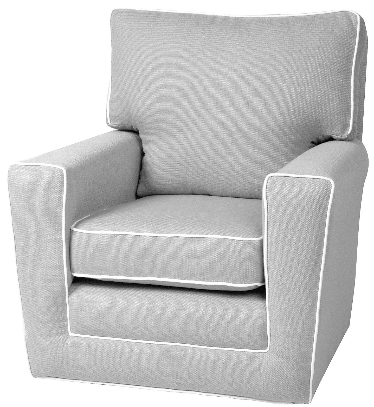 Katrina Grey Swivel Glider Chairs Throughout 2019 I Will Own A Little Castle Recliner For My Nursery No Way I'd Buy (View 7 of 20)