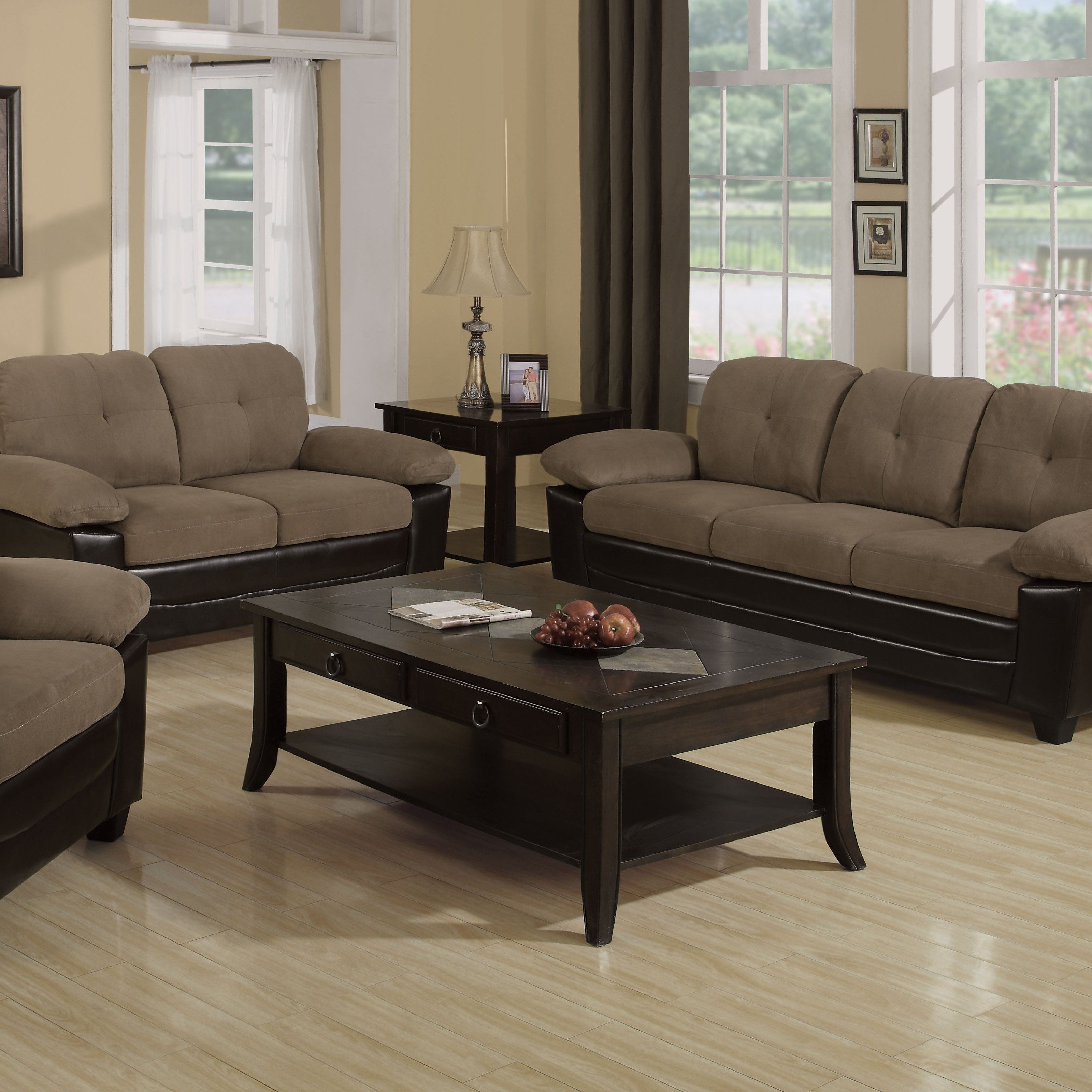 Kiara Sofa Chairs With Regard To Most Recently Released Have To Have It. Kiara Microfiber Sofa With Loveseat And Chair (Gallery 5 of 20)